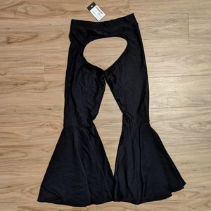 c21014a9fe59d coquetry clothing Pants - Coquetry Clothing Black Chaps